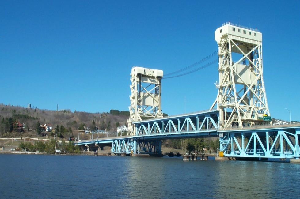"""Portage Lake Lift Bridge"" by Justin Murawski"