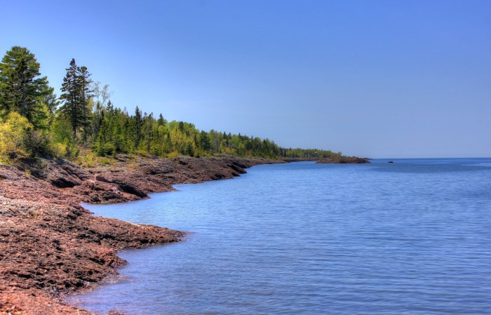 """Shoreline of Lake Superior"" by Yinan Chen under Creative Commons Public Domain Dedication"